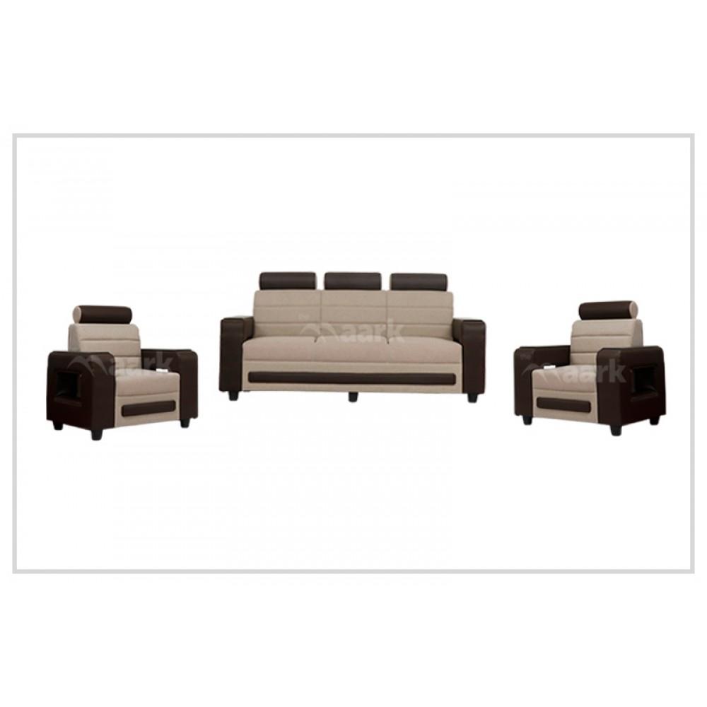 Alden Fabric Sofa 3+1+1