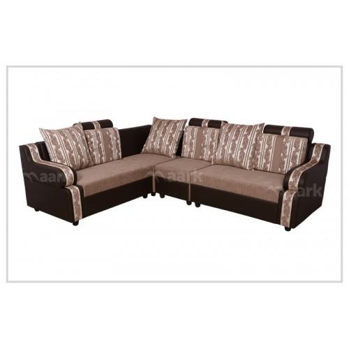 Bluto Fabric Corner Sofa