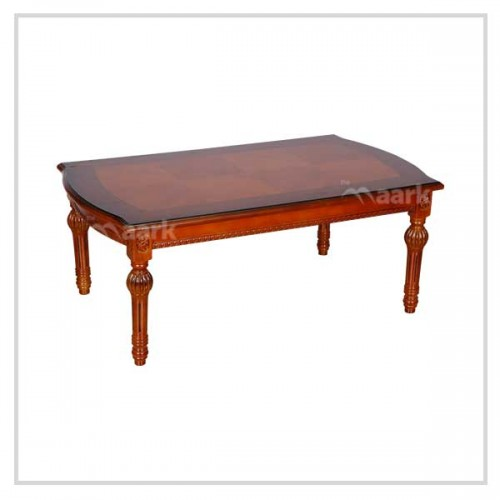 Long Wooden Center Table