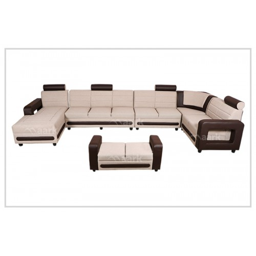 Magna U Shaped Corner Fabric Sofa