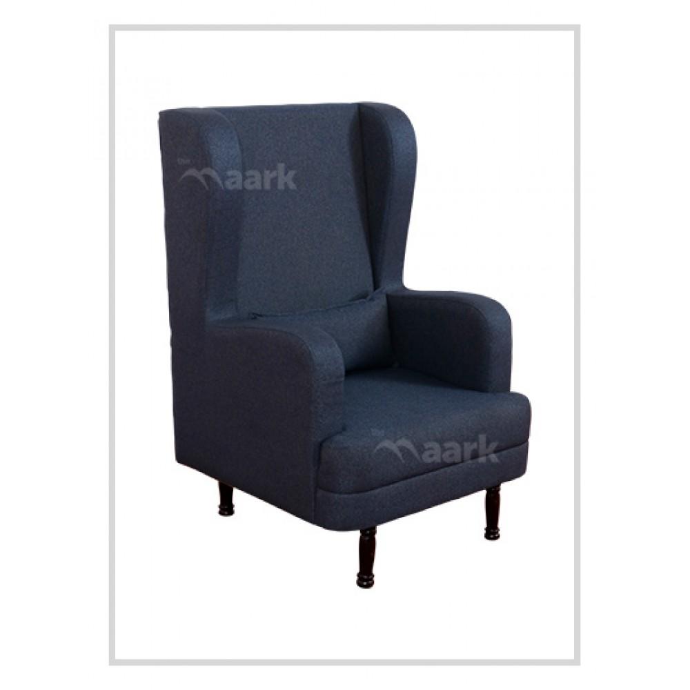 Olena Royal Fabric Single Sofa