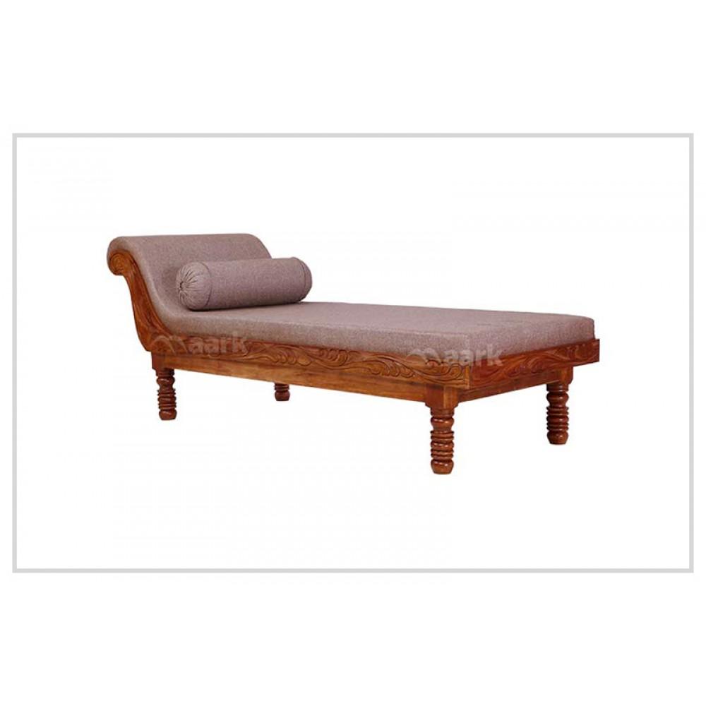 Wooden Divan Sofa In M Fabric