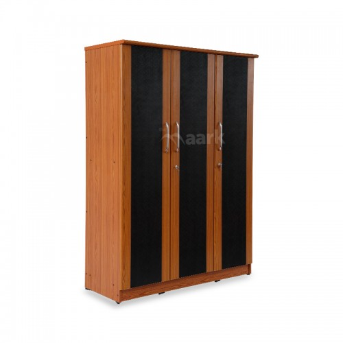 Three Door Premium Wooden Wardrobe