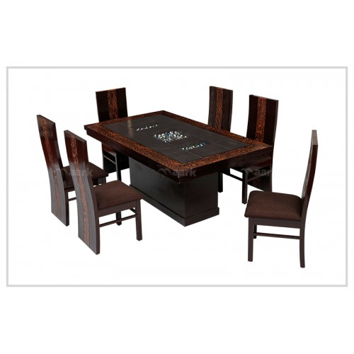Blazan Wooden Dining Table