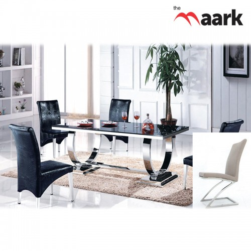 The Maark New Designed Glass Dining Table