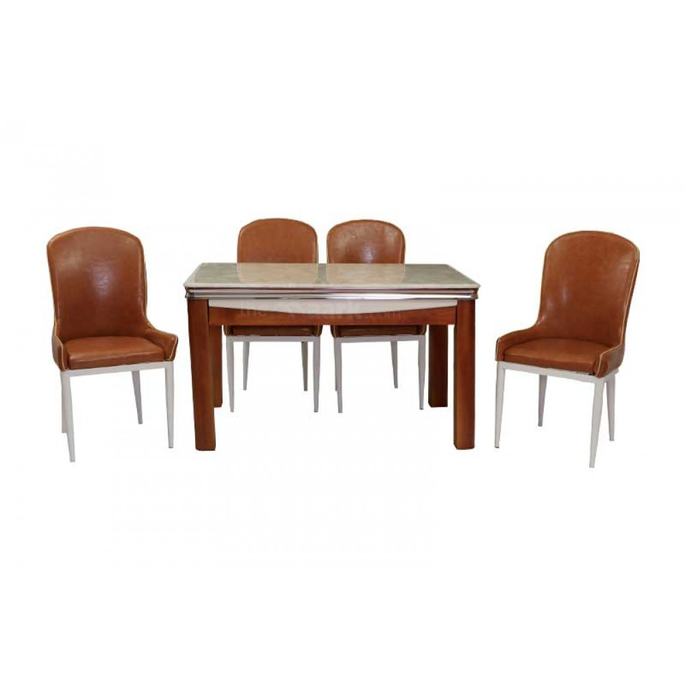 HT DS4-A86-C05-DINING TABLE-1+6