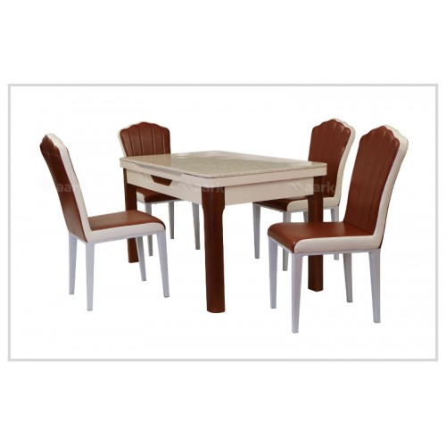 HT Marble Dining Four Seater