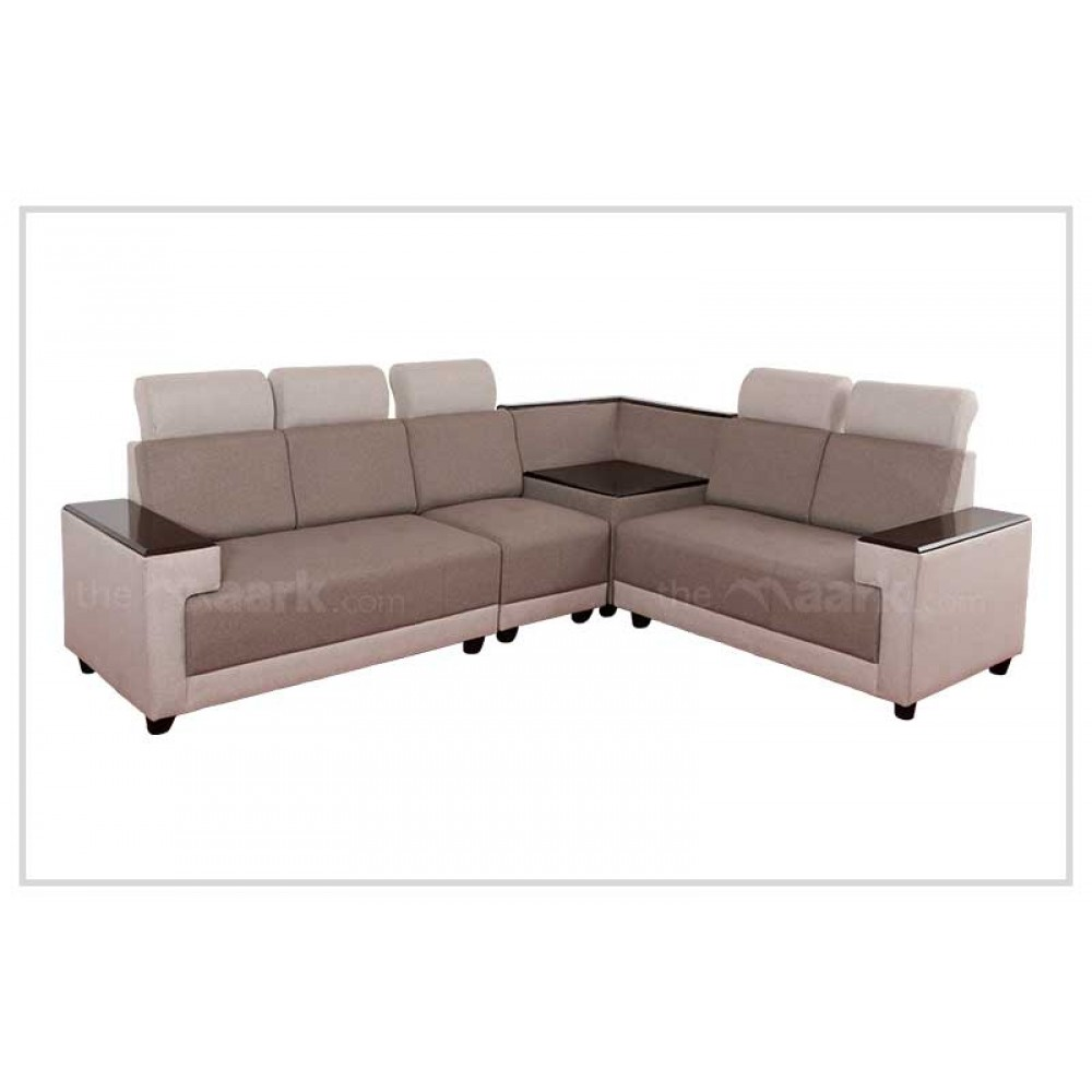 Indroyal Fabric Corner Sofa