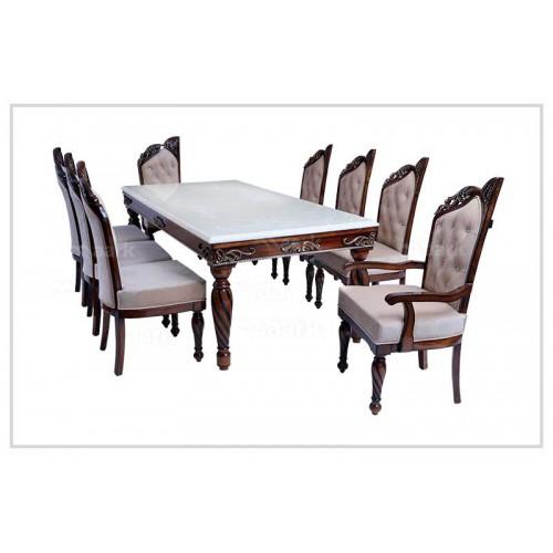 Jhummber Whallae Teak Wood Dining Table
