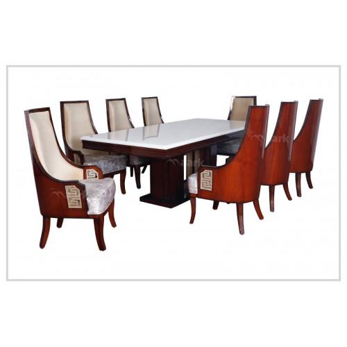 Katthi Teak Wood Dining Table