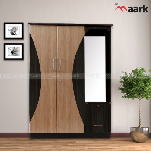 Double Door Wardrobe With Dresser