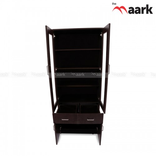 The Maark Wooden Book shelf