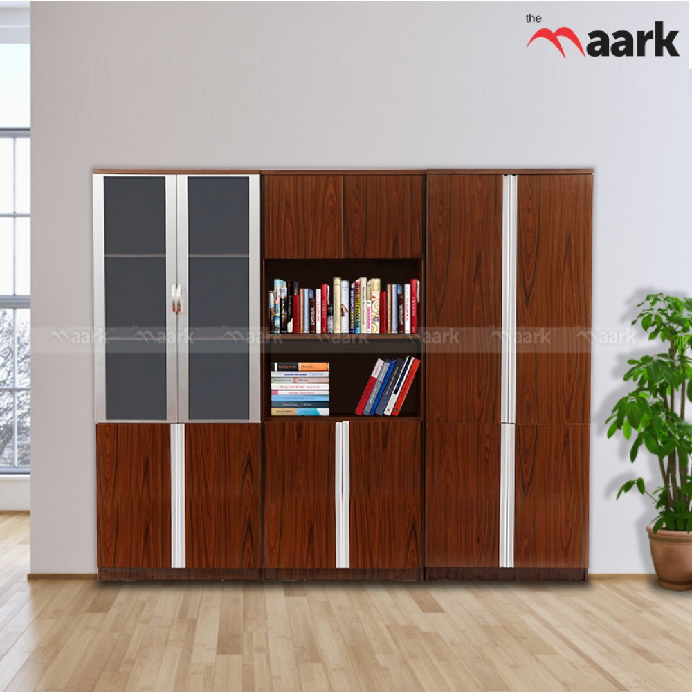 Bookshelf Wooden With Glass Bookshelf Modern Bookshelf