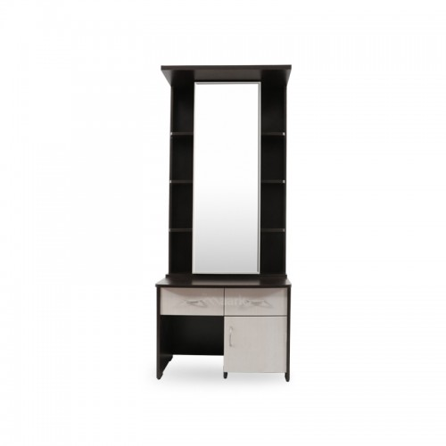 Baltoro High Glass with Wooden Dressing Table