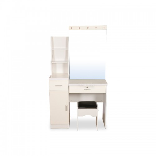 White Designed Dressing Table