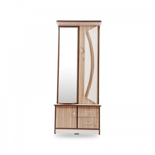 Wooden Glass Designed Dressing Table