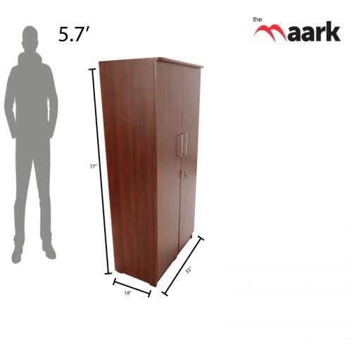 Wooden Two Door Wardrobe