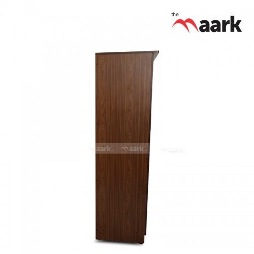 Dotted Classic Three Door Wooden Wardrobe