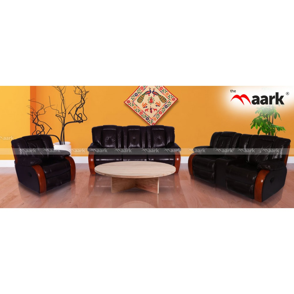 leather Sofa : Buy Leather Sofa Online in India | Buy ...
