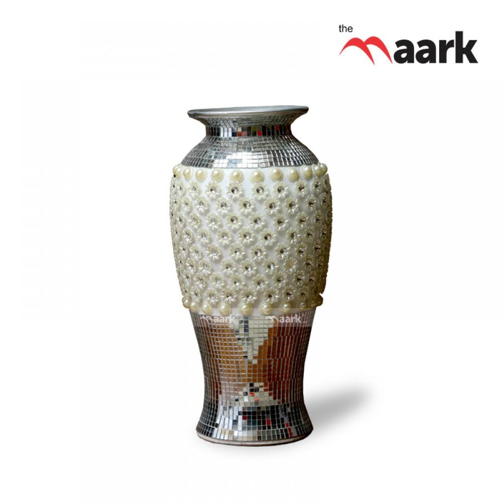 The Maark Tall Designer Ceramic Flower Vase