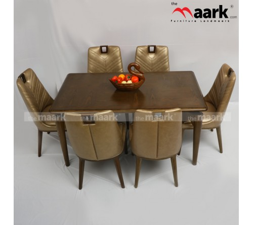 6 Seater  HT Wooden Dining 8031