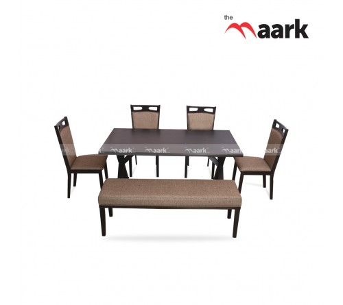 The Maark 6 Seater Dining Table Set