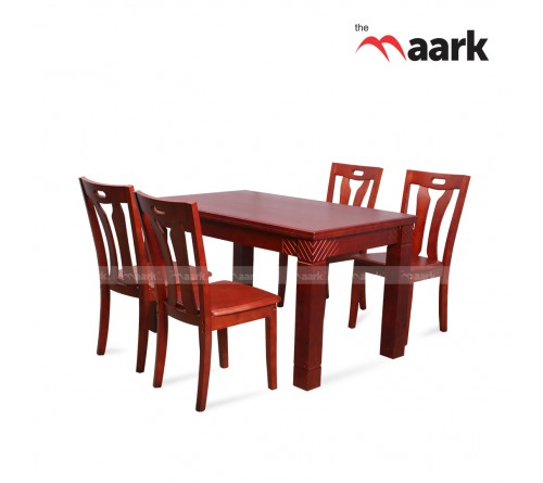 The Maark 4 Seater Wooden Dining Table