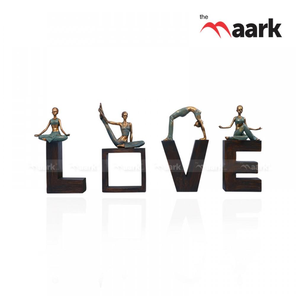 The Maark Love Statue