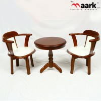 Wooden suit set a06-908 with rotater chair