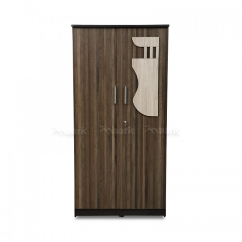 Saffron Two Door Wooden Wardrobe