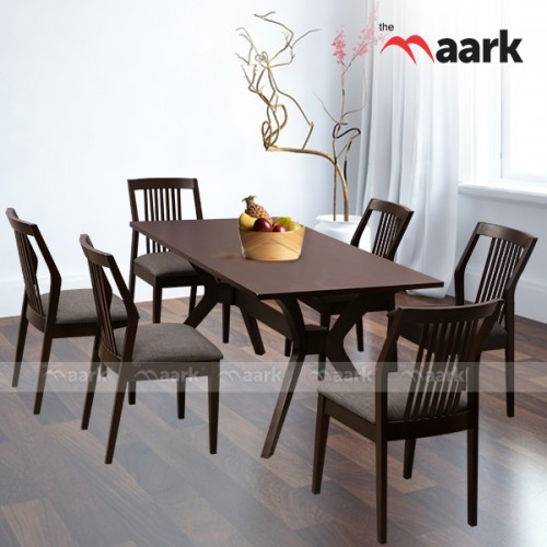 Met Six Seater Dining Table