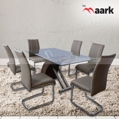 The Maark Combo Crystal Dining Table
