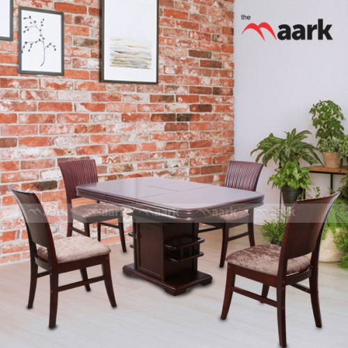 Wooden Four Seater Dining Table