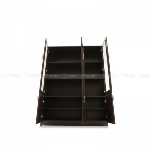 Black Berry Triple Door Bookshelves