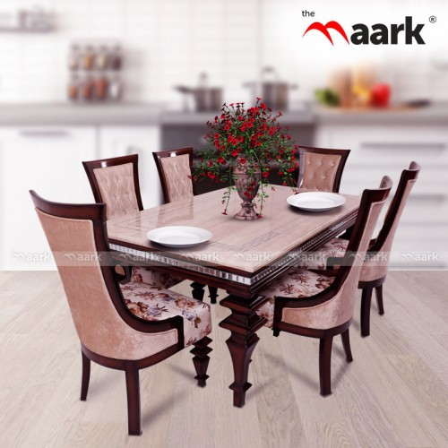 The Maark Libra Six Seater Dining Table