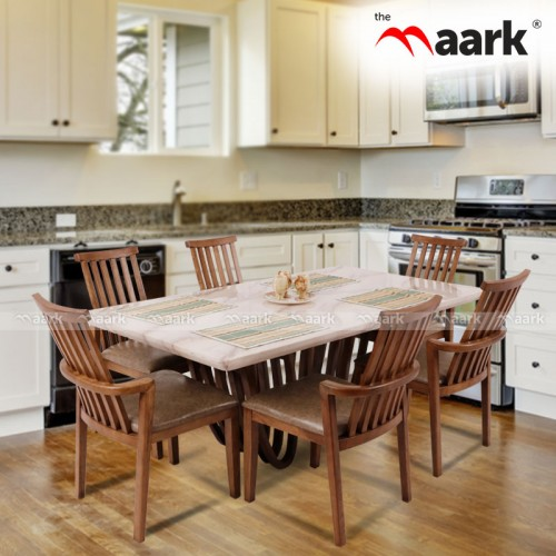 The Maark NewPort Wooden Dining Table