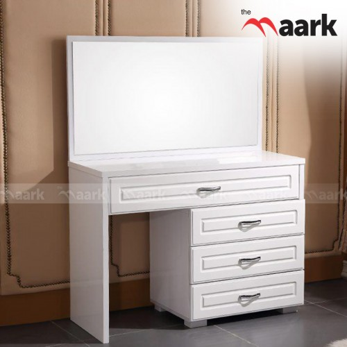 Pure White Dressing Table