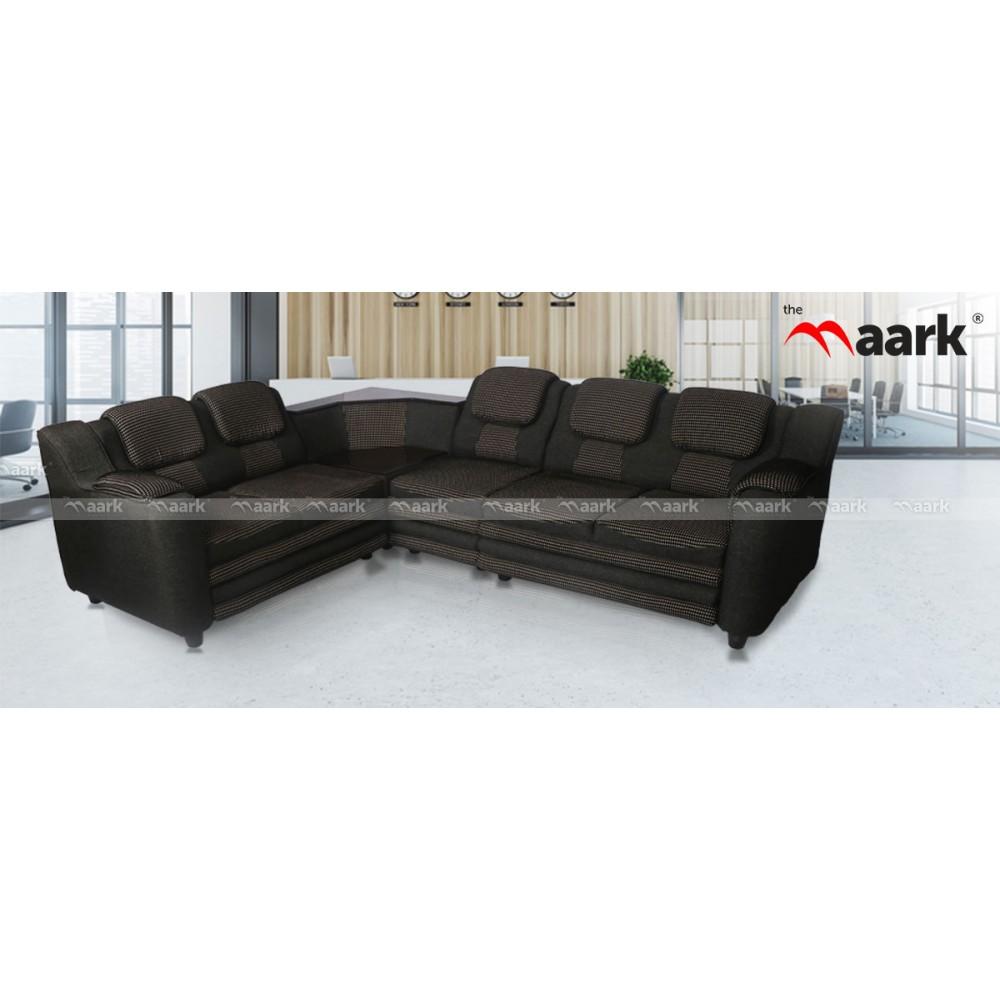 Double Back L Shape Sofa