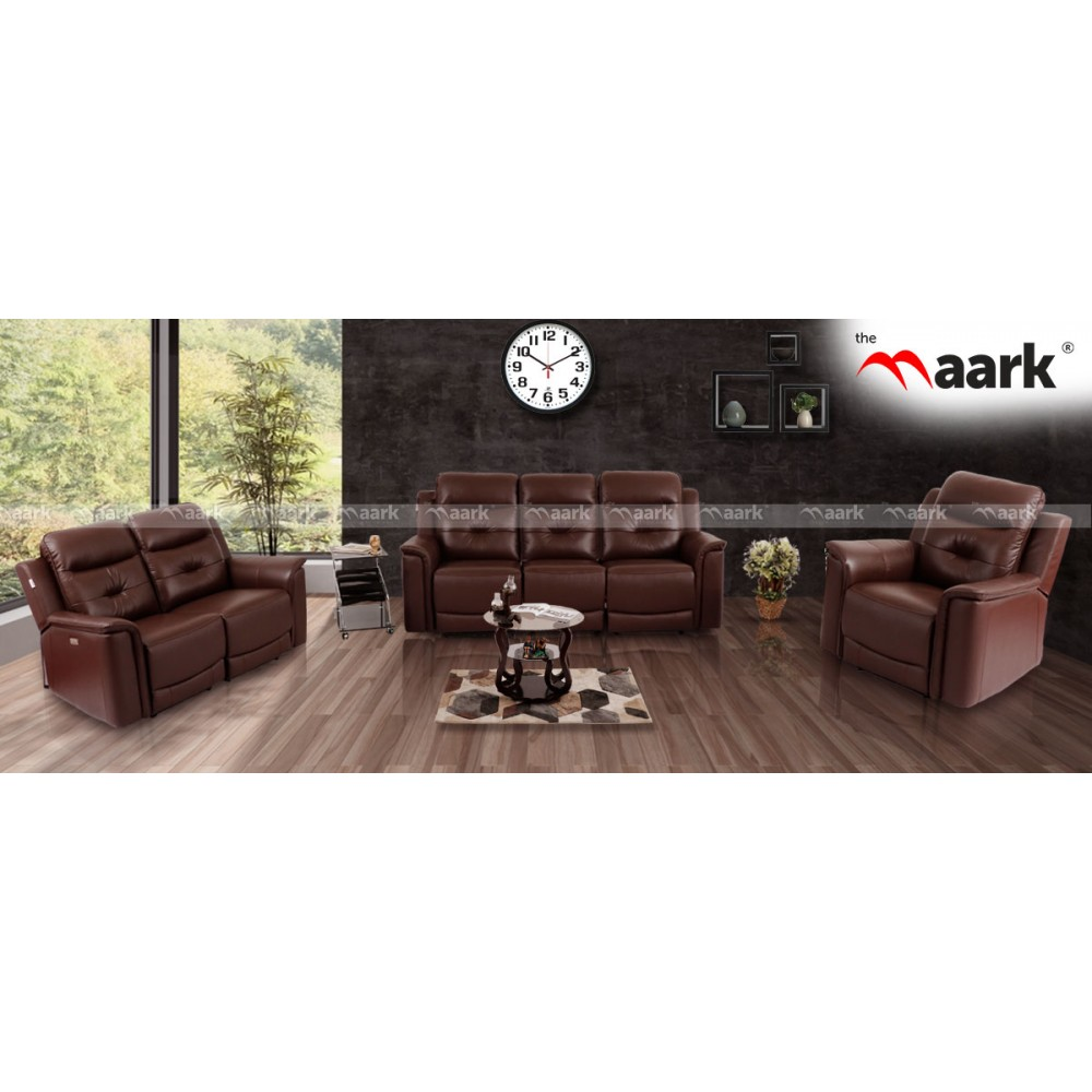 Buy Leather Sofa Online | Leather Sofa Sets | Modern Leather Sofa set