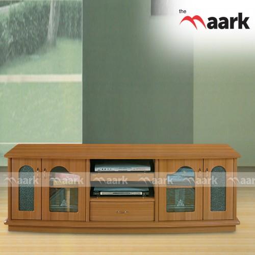Wooden Door Open TV Cabinet