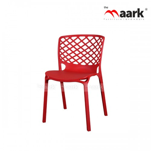 The Maark Red Colour Home Chair