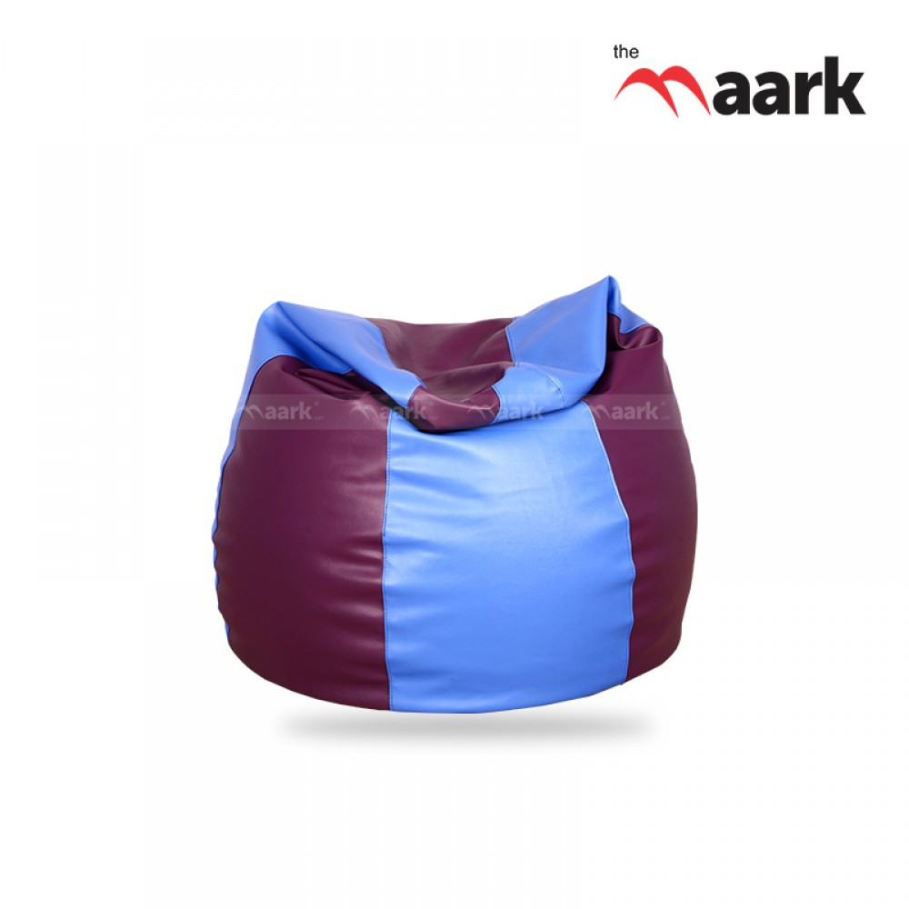 Blue And Violet Bean Bags
