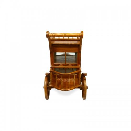 Wooden Trendy Service Trolley