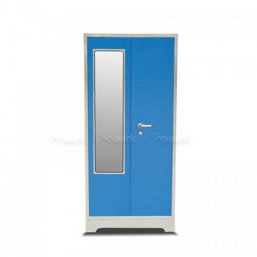 Ultima Steel Two Door Wardrobe