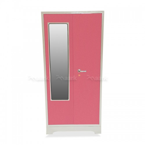Arisa Steel Two Door Wardrobe