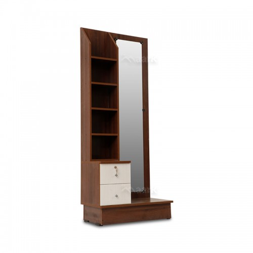 Drago Glass with Wooden Dressing Table