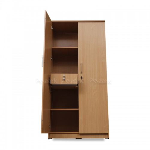 Emilia Wooden Two Door Wardrobe