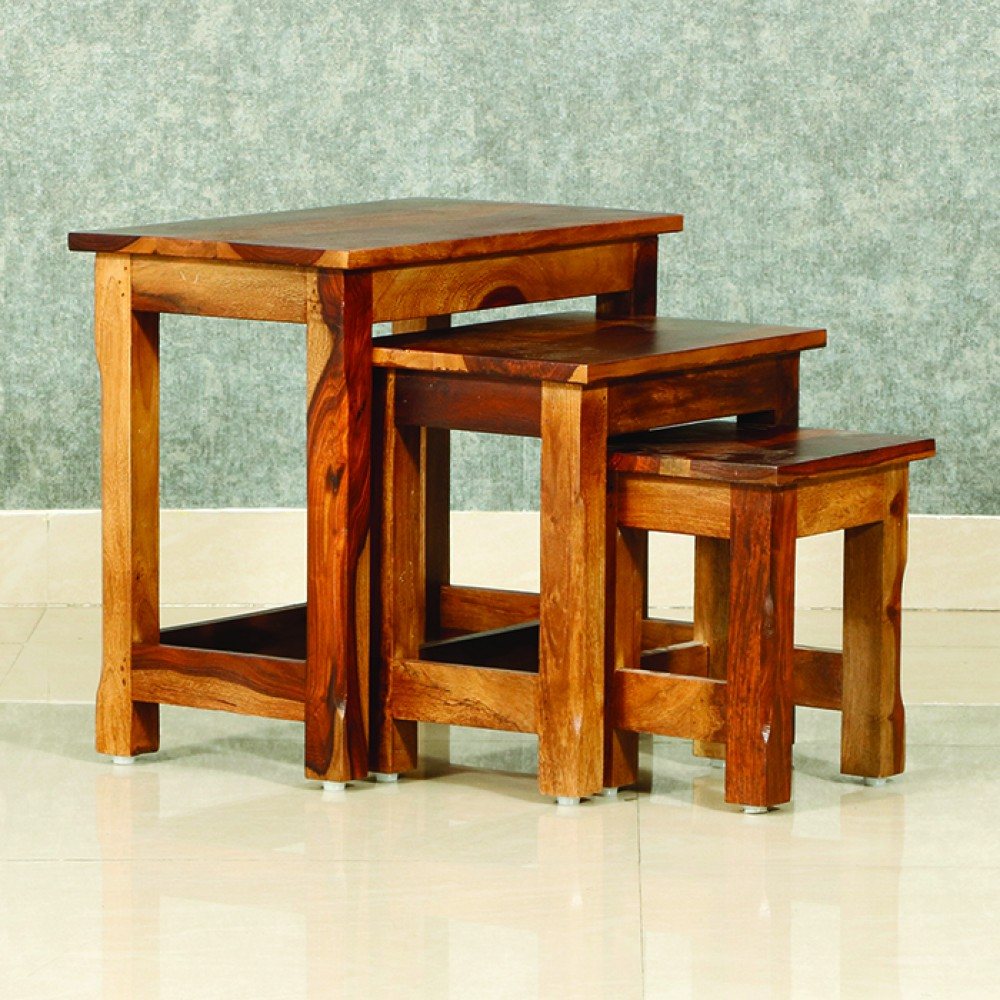BOSS SOLID NESTED STOOL