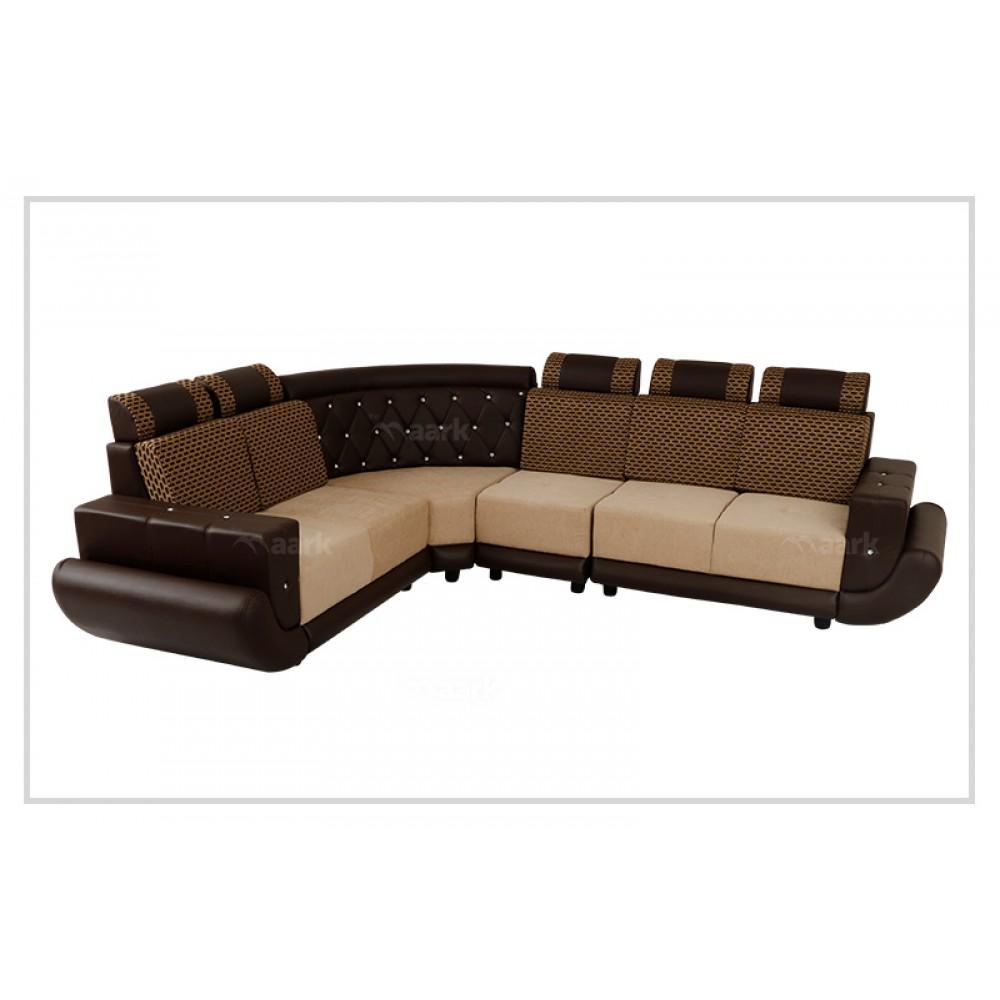 Capital Sectional Fabric Corner Sofa