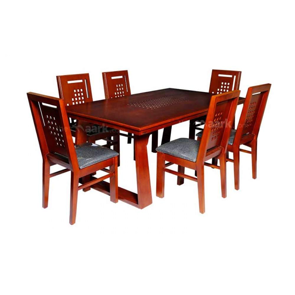 WL-119SP-DINING TABLE 1+6